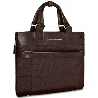 CA1618LK/TM Сумка Piquadro Link Dark Brown